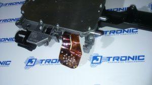 Sterownik skrzyni biegów stronic stronik DL501 uszkodzona taśma gniazdo.